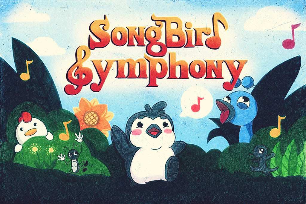 Songbird Symphony Video Game Poster