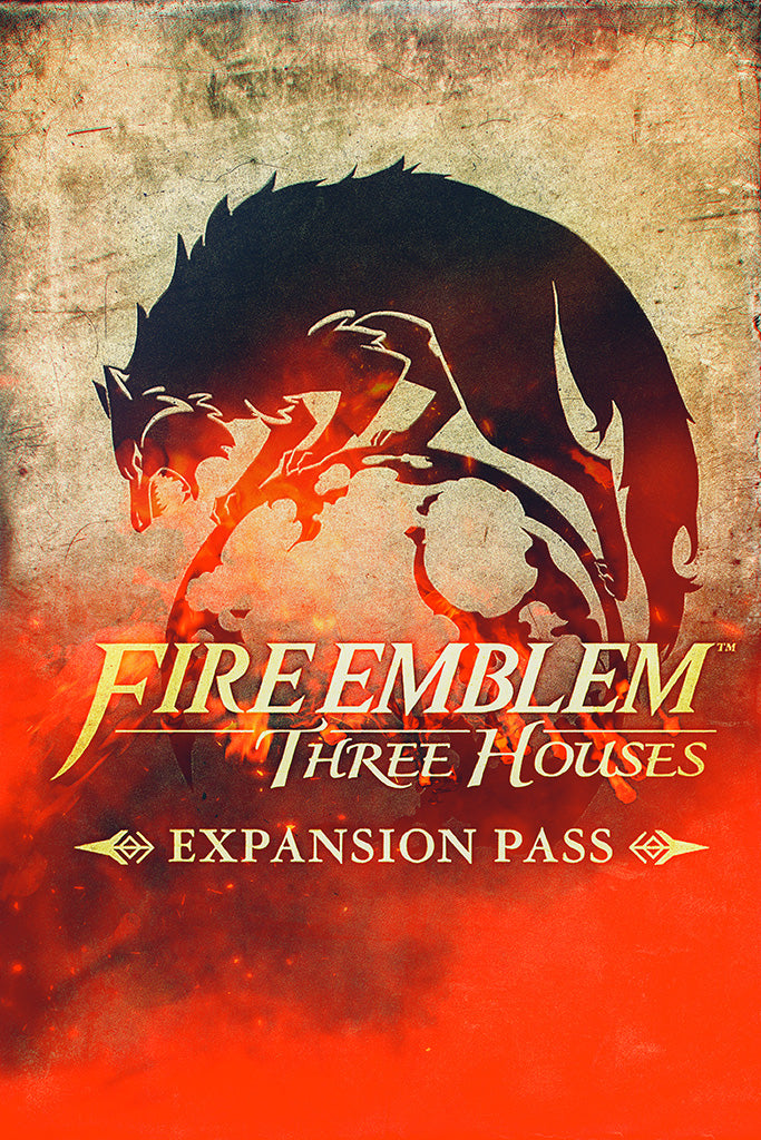 Fire Emblem Three Houses Video Game Poster