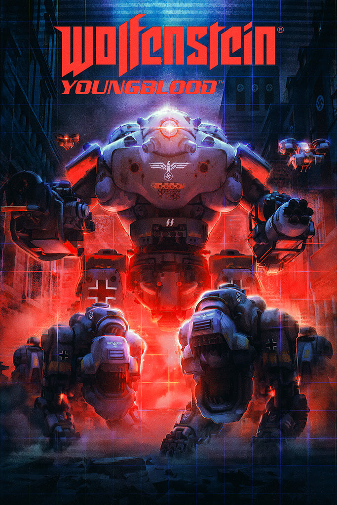 Wolfenstein Youngblood Game Poster