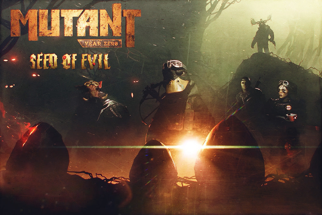 Mutant Year Zero Seed of Evil Poster