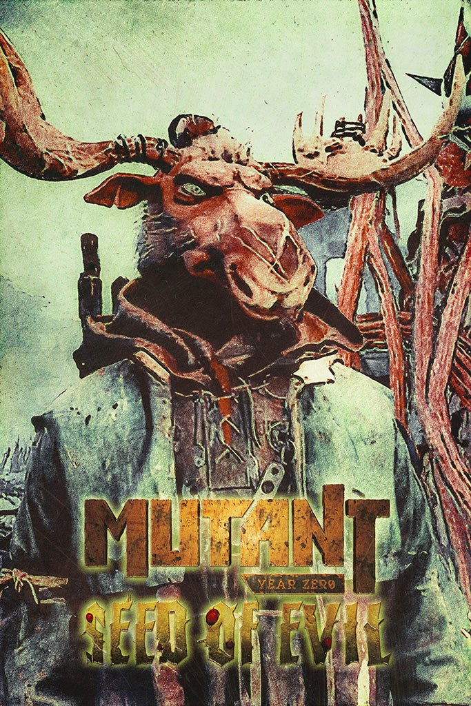 Mutant Year Zero Seed of Evil Video Game Poster