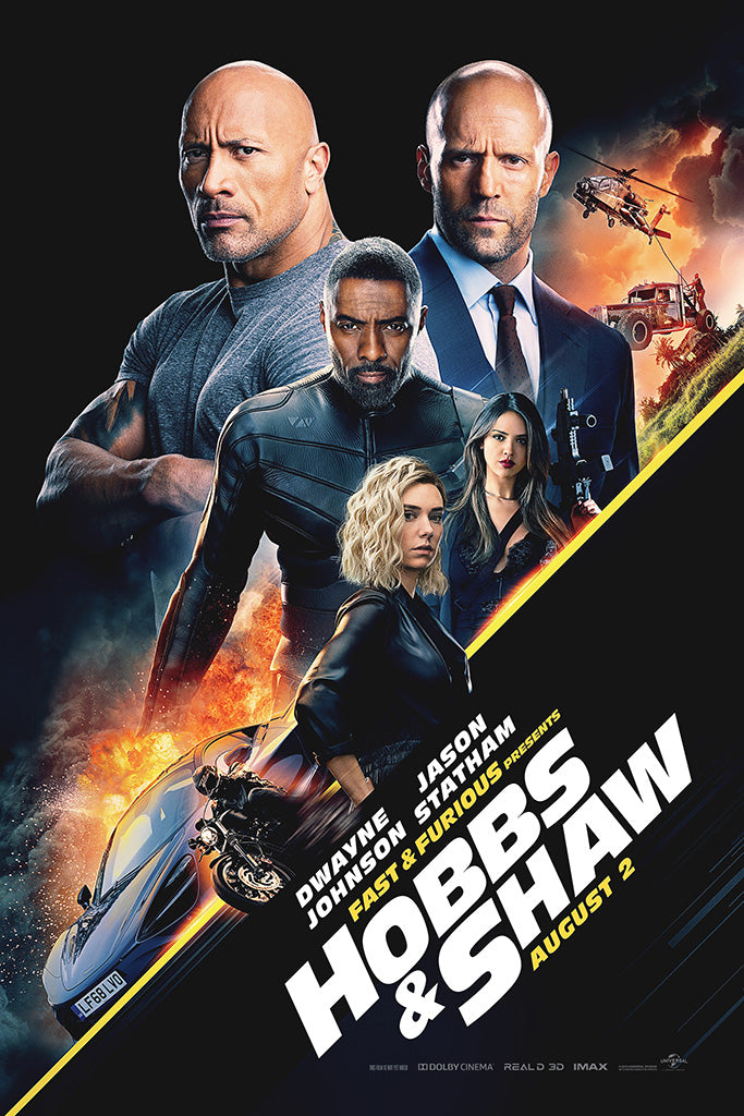 Fast & Furious Presents Hobbs & Shaw Poster