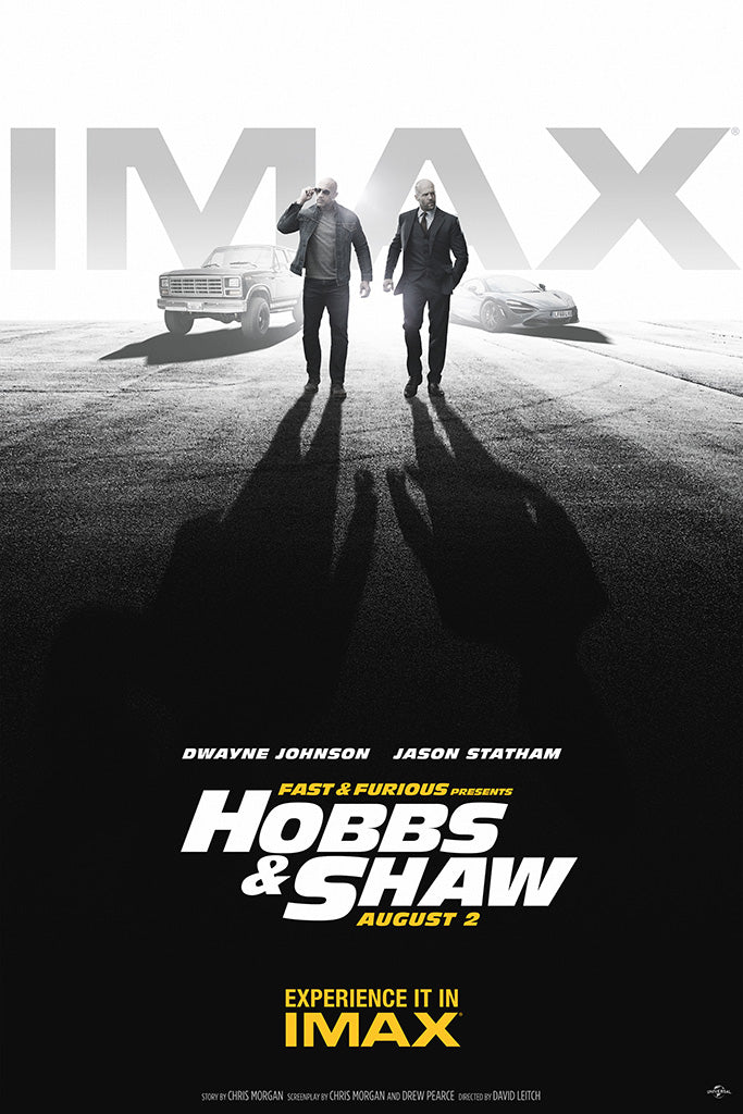 Fast & Furious Presents Hobbs & Shaw Movie Poster