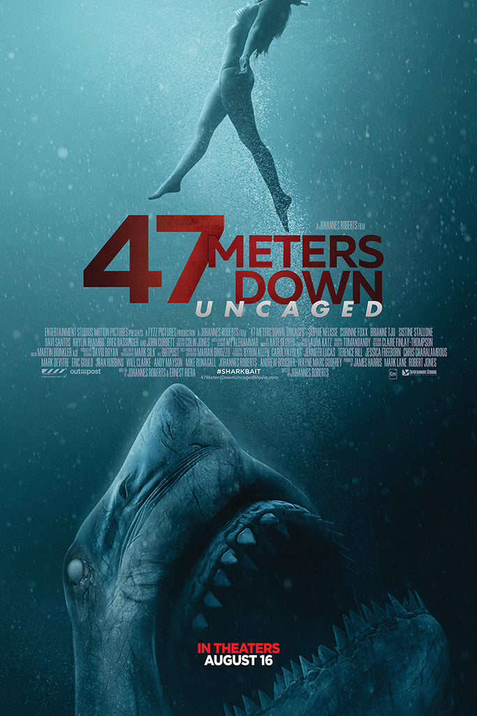 47 Meters Down Uncaged Poster