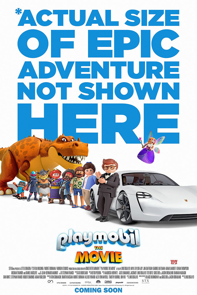 Playmobil The Movie Poster
