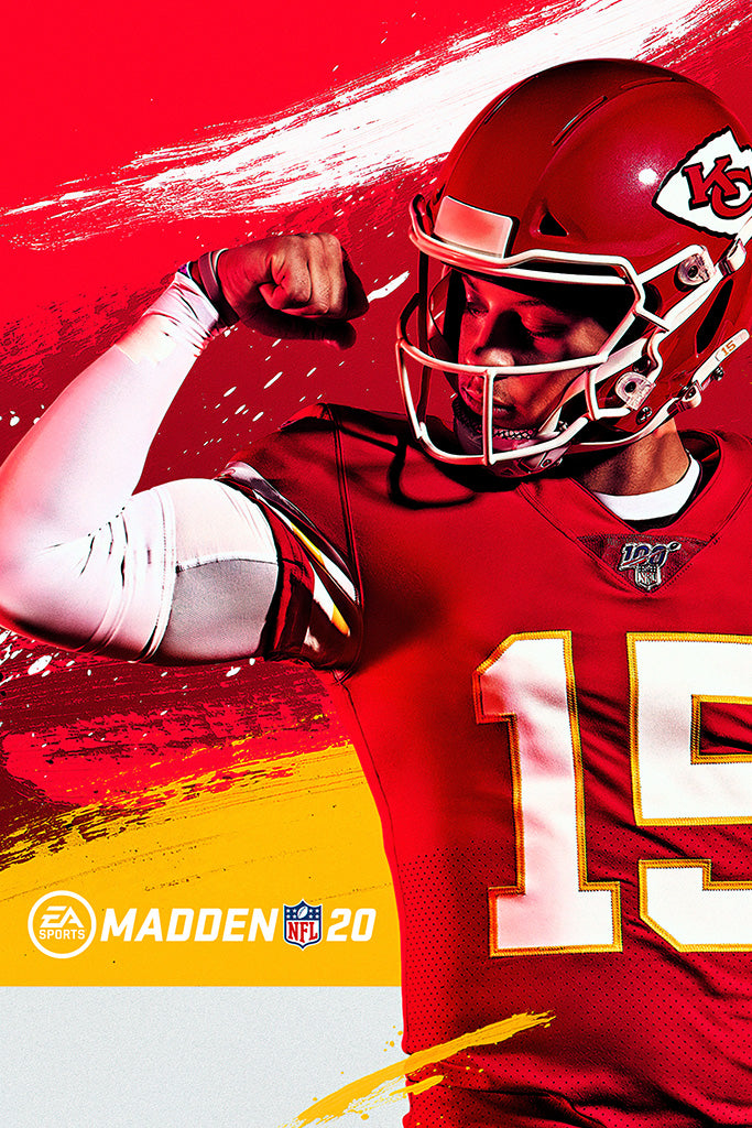 Madden NFL 20 Video Game Poster