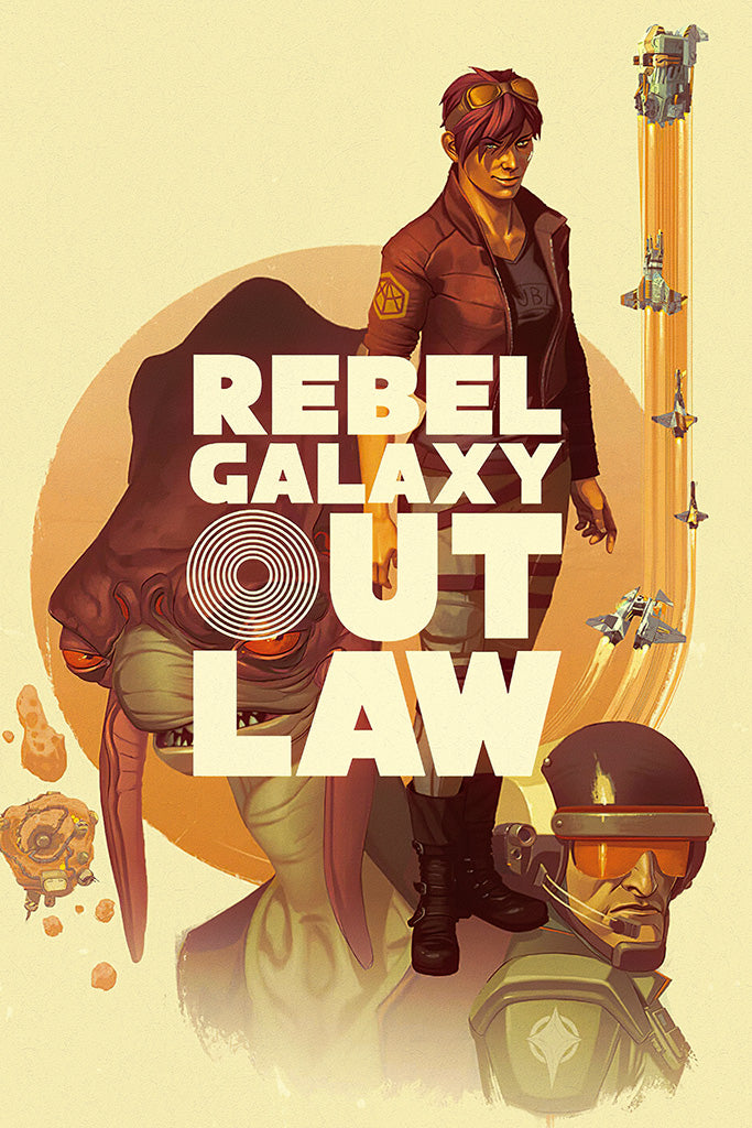 Rebel Galaxy Outlaw Poster