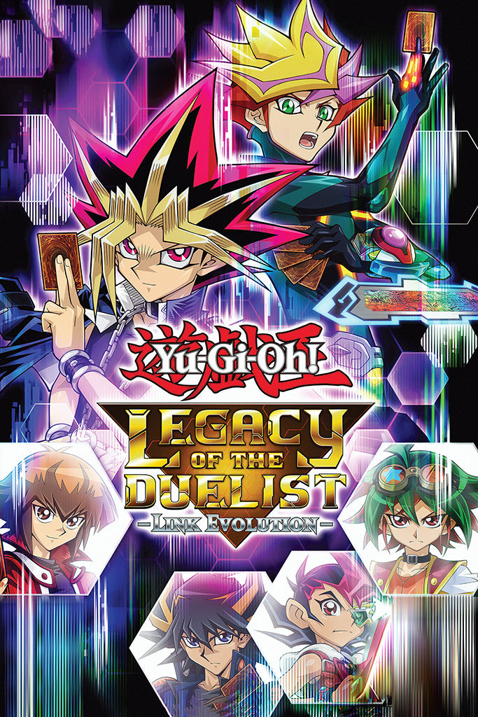 Yu-Gi-Oh! Legacy of the Duelist Link Evolution Poster