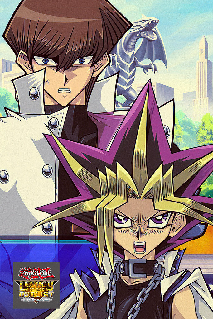 Yu-Gi-Oh! Legacy of the Duelist Link Evolution Game Poster
