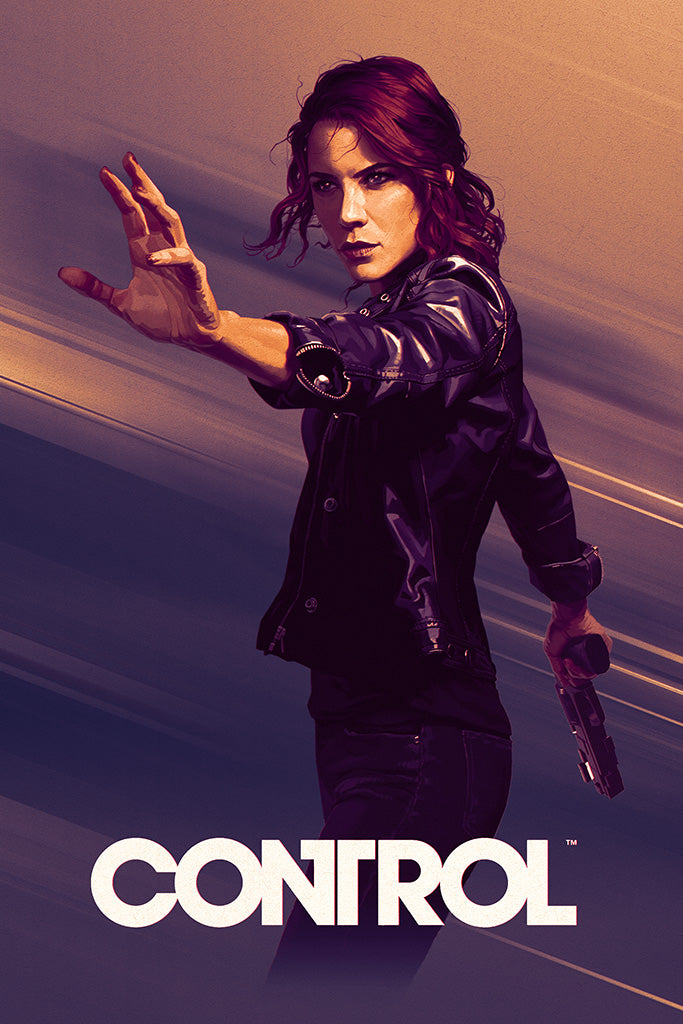 Control Game Poster