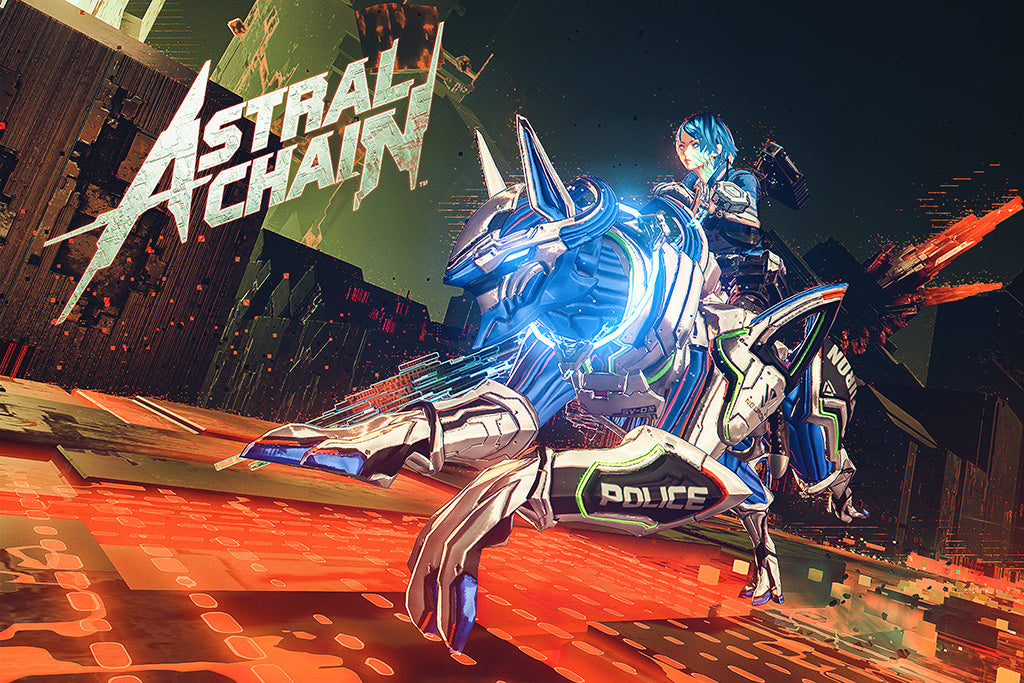 Astral Chain Game Poster