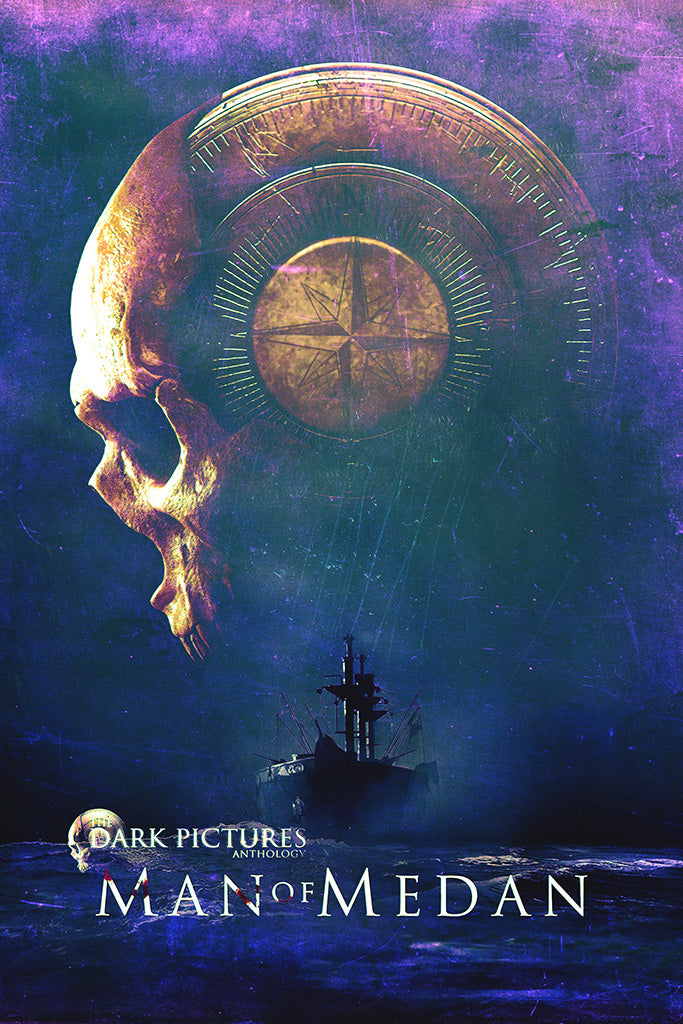 The Dark Pictures Man of Medan Video Game Poster