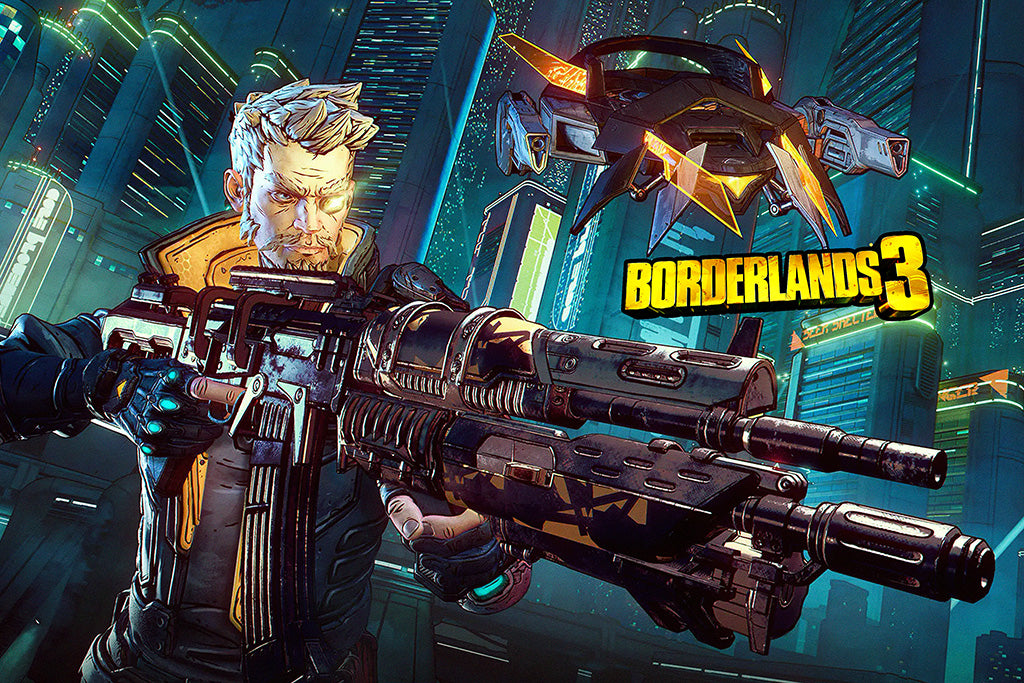 Borderlands 3 Game 2019 Poster
