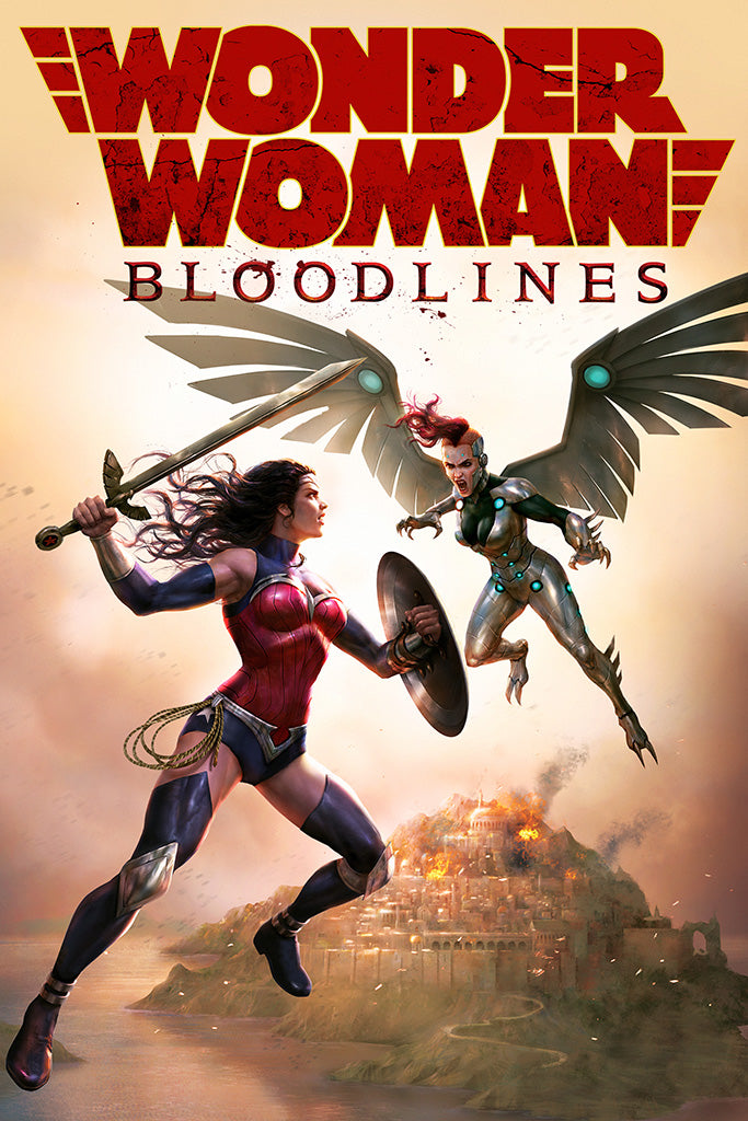 Wonder Woman Bloodlines Movie Poster