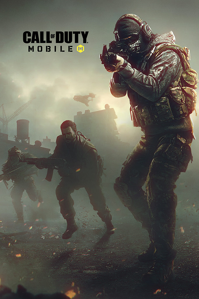 Call of Duty Mobile Game Poster