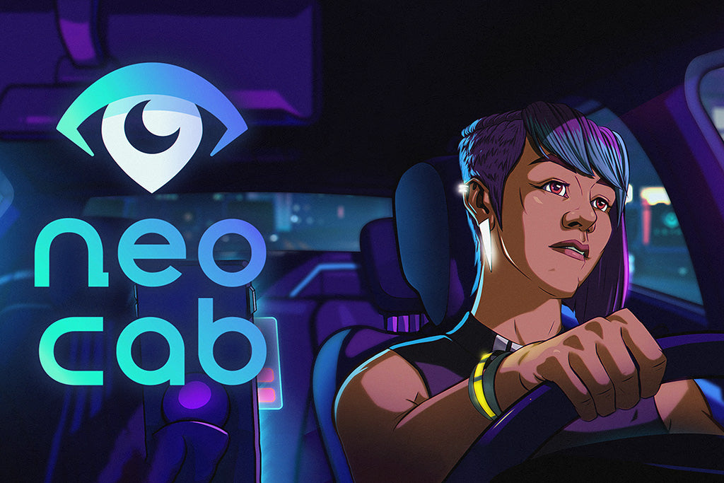 Neo Cab Game Poster