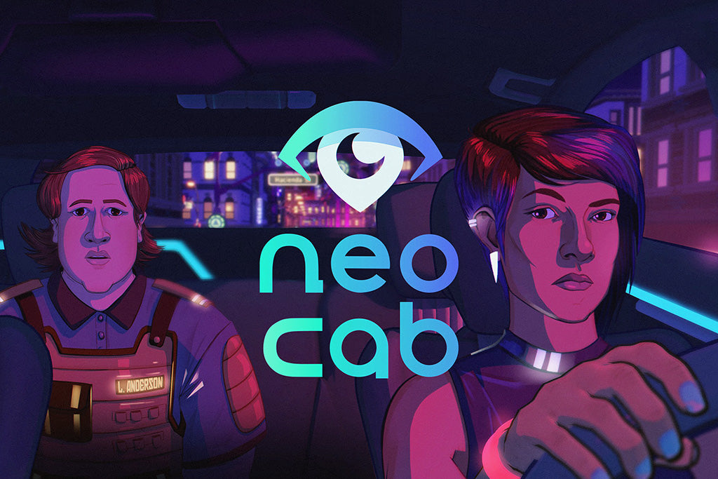 Neo Cab Video Game Poster