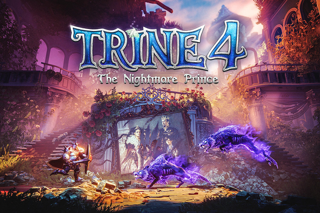 Trine 4 The Nightmare Prince Video Game Poster