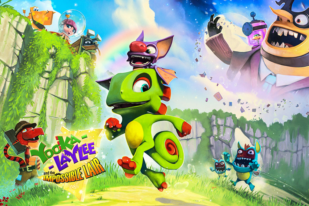 Yooka-Laylee and the Impossible Lair Game Poster
