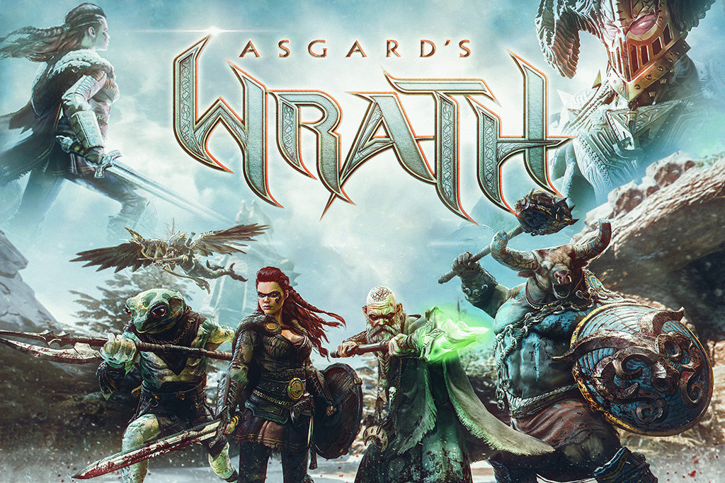 Asgard's Wrath Video Game Poster