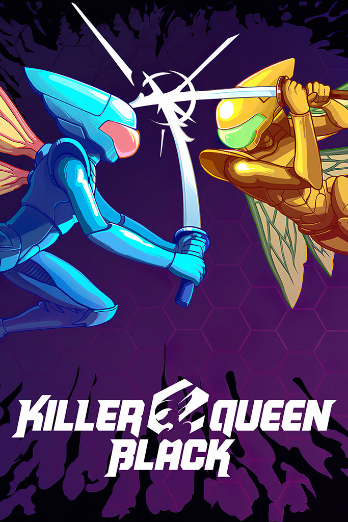 Killer Queen Black Game Poster