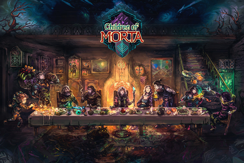 Children Of Morta Game Poster