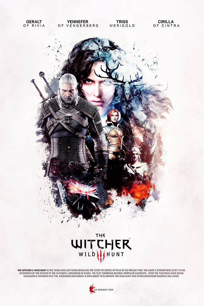 The Witcher 3 Wild Hunt Complete Edition Poster