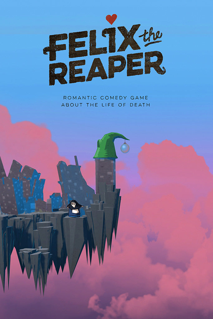 Felix the Reaper Video Game Poster