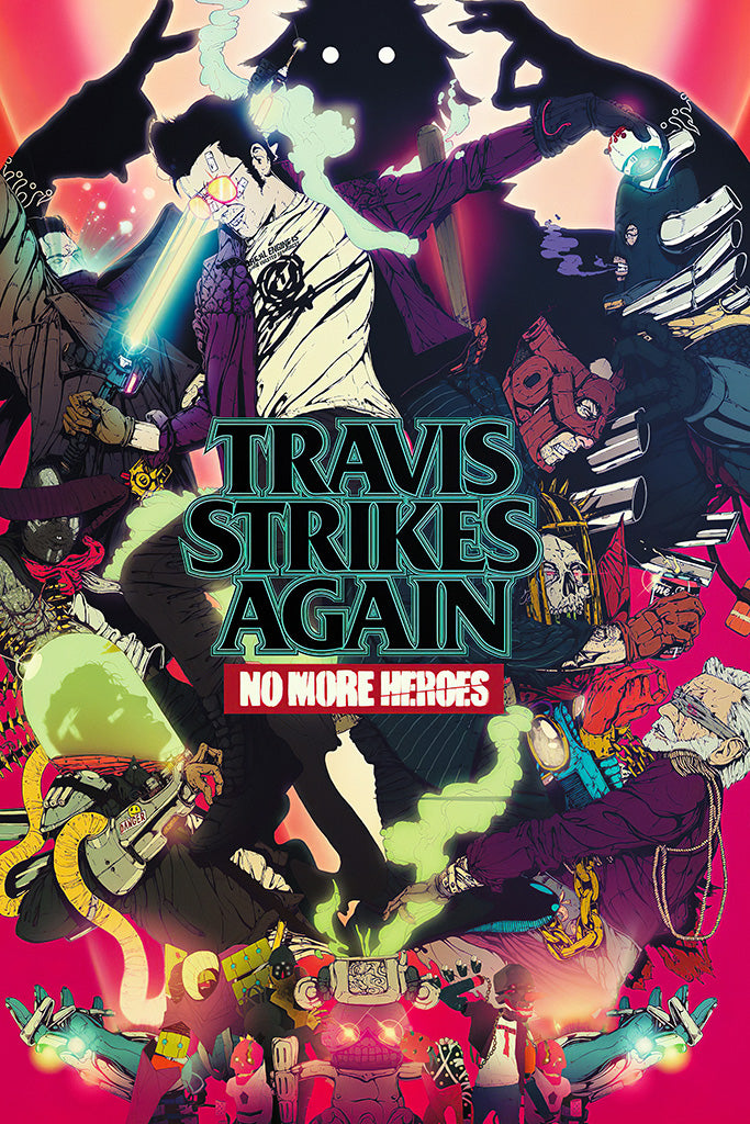 Travis Strikes Again No More Heroes 2019 Poster