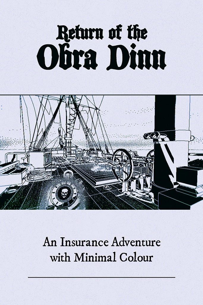 Return Of The Obra Dinn Poster
