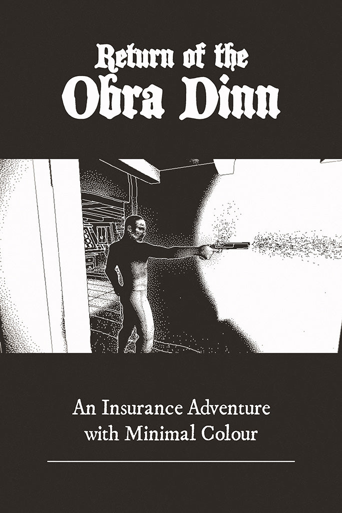 Return Of The Obra Dinn Video Game Poster