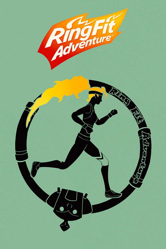 Ring Fit Adventure Poster
