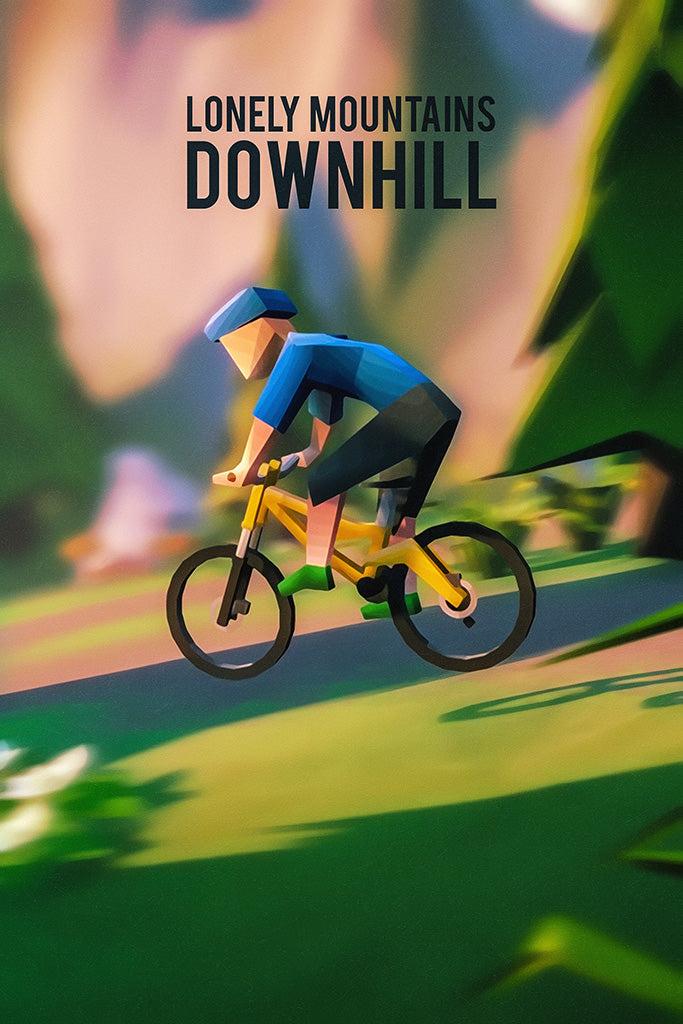Lonely Mountains Downhill Poster