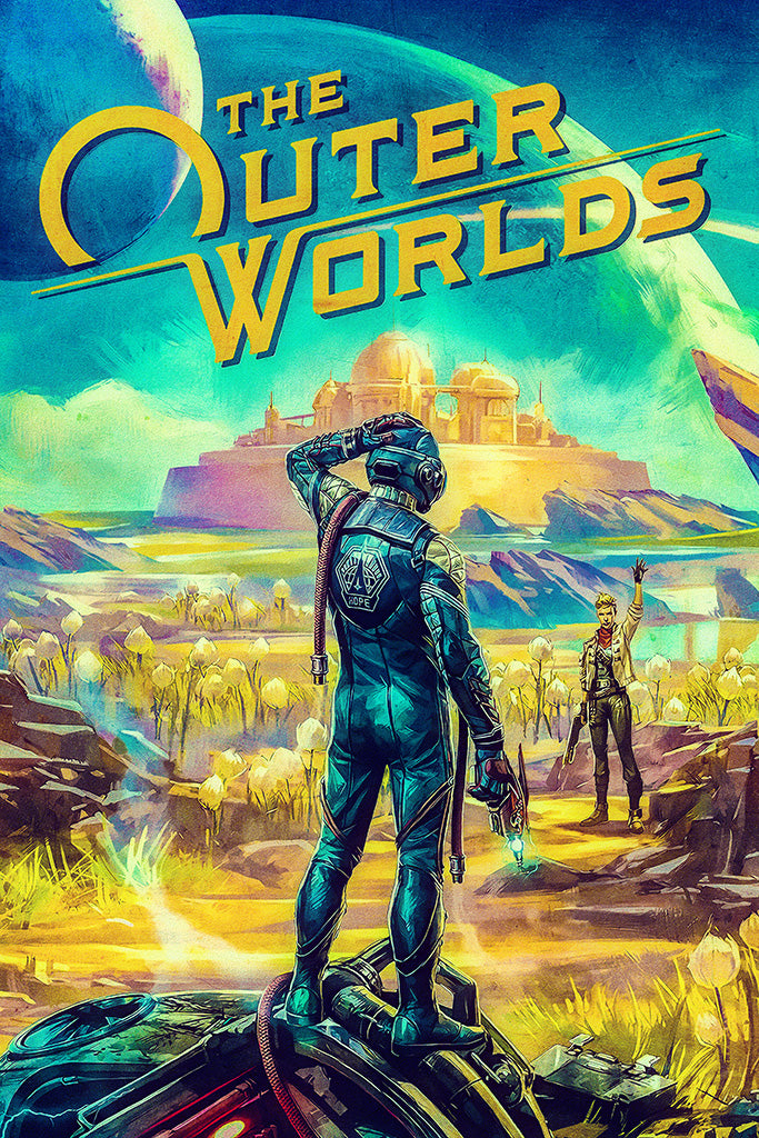 The Outer Worlds Poster