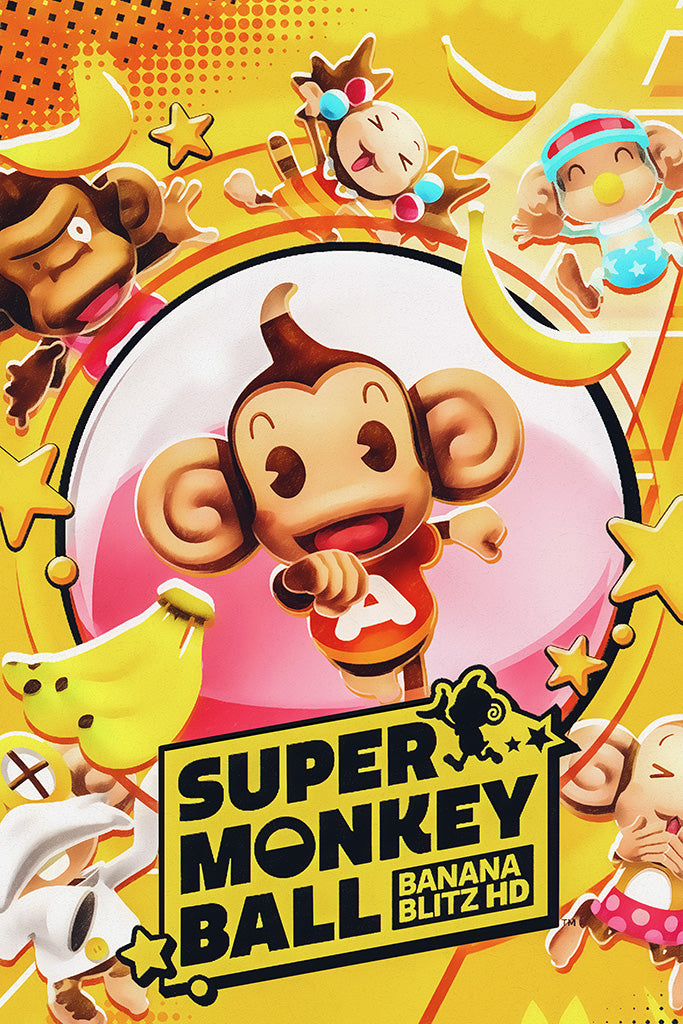 Super Monkey Ball Banana Blitz 2019 HD Poster