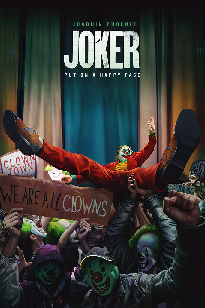 Joker 2019 Movie Fan Art Poster