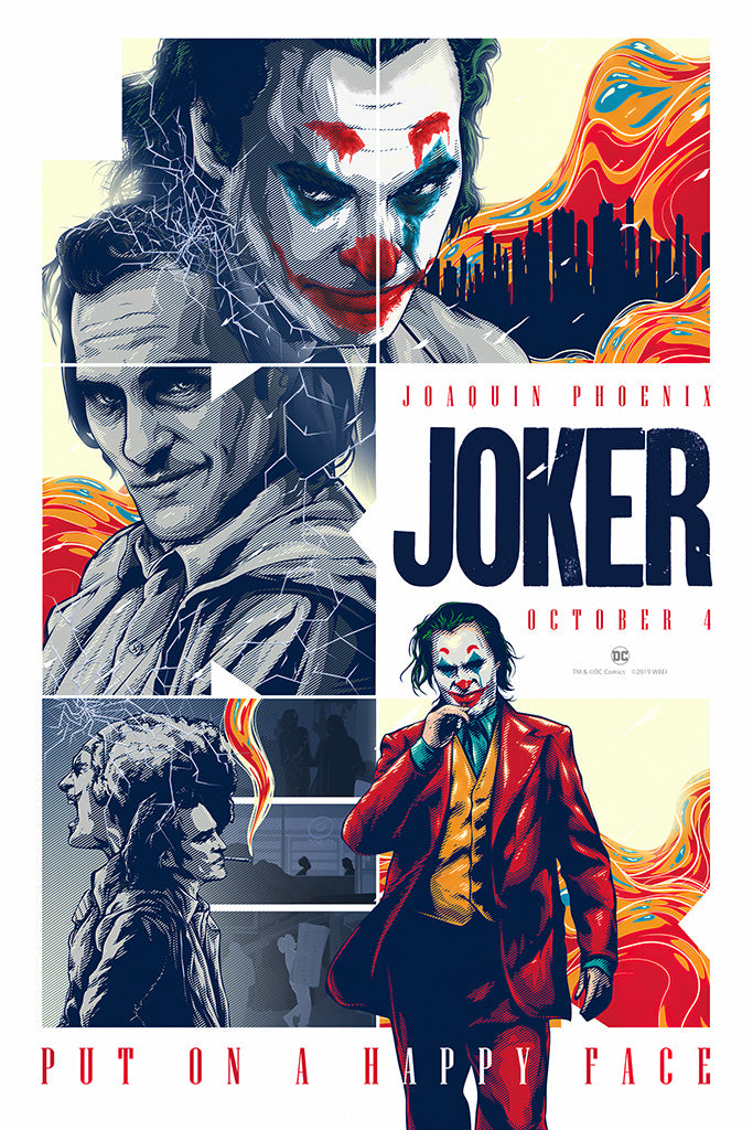 Joker 2019 Fan Art Poster
