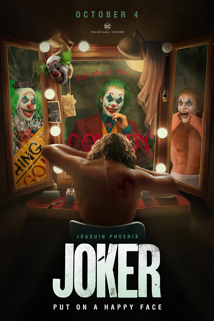 Joker Fan Art 2019 Movie Poster