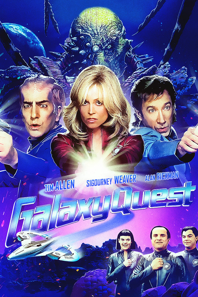 Never Surrender A Galaxy Quest Documentary Poster