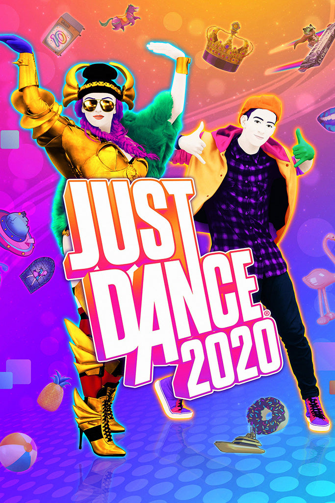 Just Dance 2020 Game Poster
