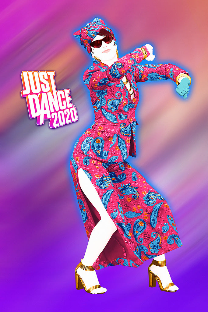 Just Dance 2020 Video Game Poster