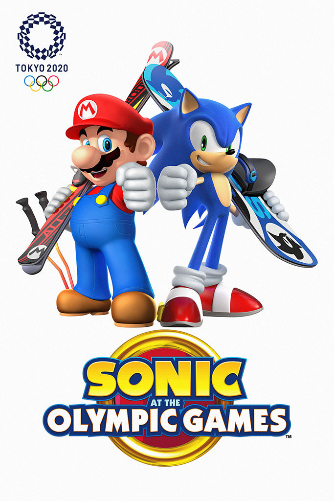 Mario & Sonic at the Olympic Games Tokyo 2020 Game Poster