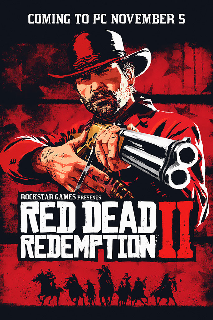 Red Dead Redemption 2 PC Poster
