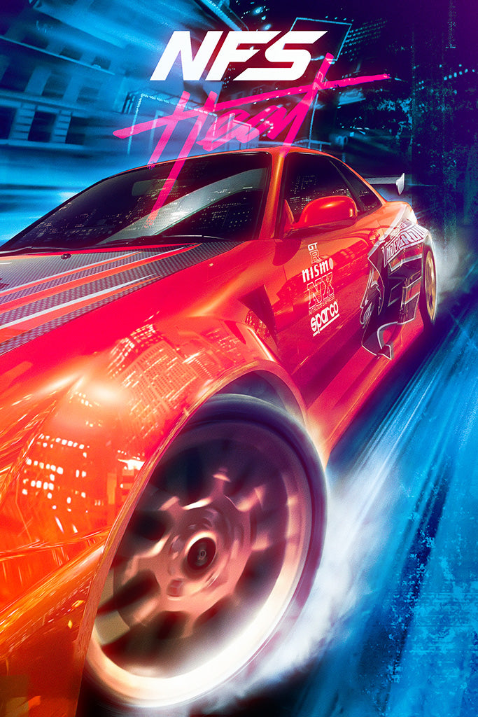 Need For Speed Heat Poster
