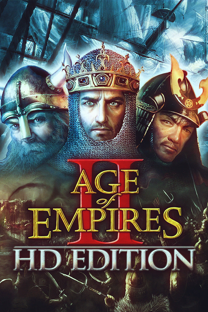 Age of Empires II Definitive Edition Video Game Poster