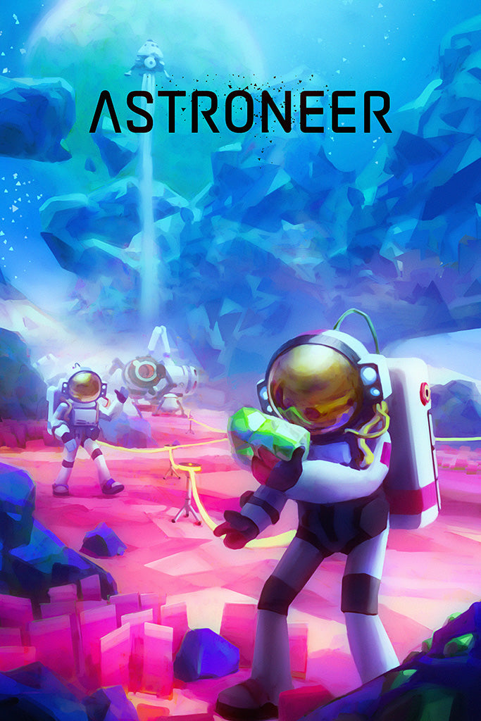 Astroneer Game Poster