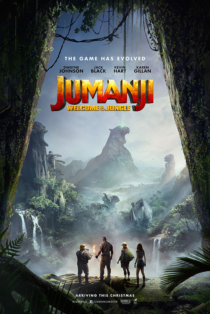 Jumanji The Video Game Poster