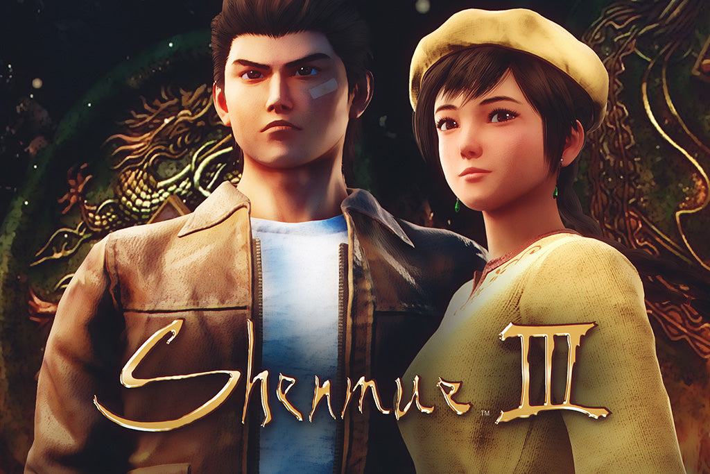 Shenmue III Video Game Poster
