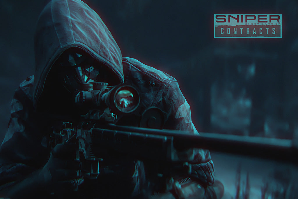 Sniper Ghost Warrior Contracts Game Poster