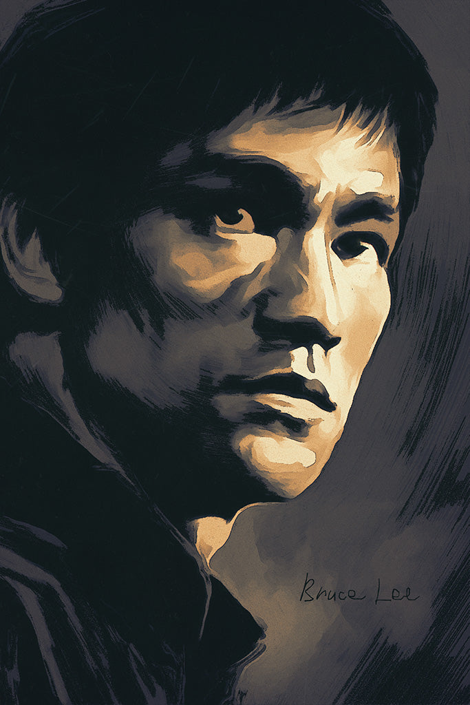 Bruce Lee Face Poster